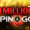Миллион в турнире Spin&Go снова выигран